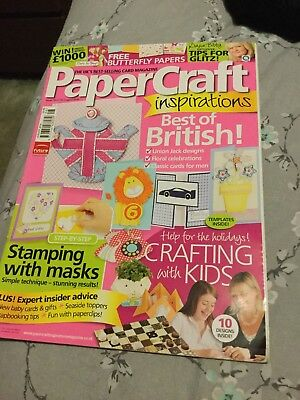 papercraft inspirations August 2010 plus 8 card shapes free gift