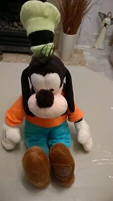 Goofy soft Beannie toy from Disney approx 13 inches long in exc cond