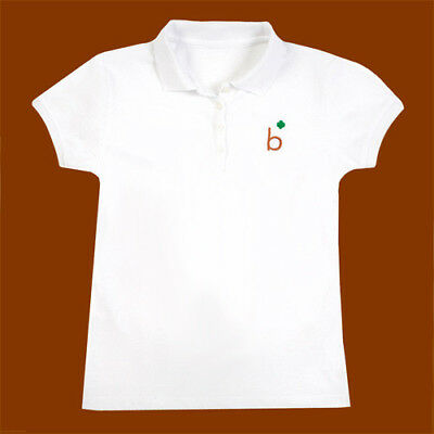 OFFICIAL Brownie SHORTHAND POLO SHIRT  S, M, L Girl Scouts New