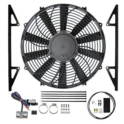 Revotec Kit ventilateur électrique Austin Healey 3000 (Masse positive)