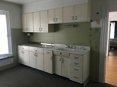 Retro Youngstown Kitchen Cabinets & Sink