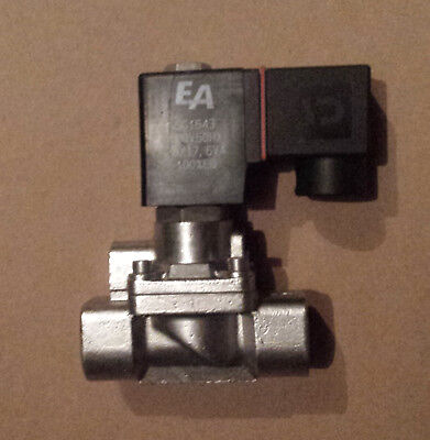ODE 21X series 2/2 way stainless steel solenoid valve