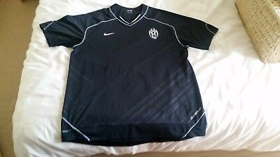 Mens Nike Juventus Black Training Shirt