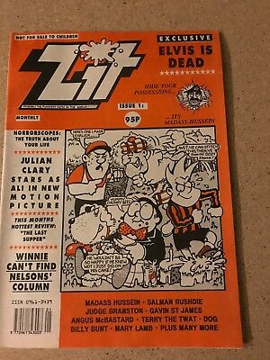 Zit Comic - Mint First Issue  - Viz Like Adult Comic