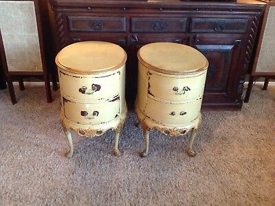 Pair of Rockford Furniture Company Mahogany End Tables, circa 1930's