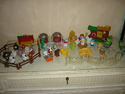 lot de little people fisher price  theme ferme