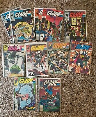28 Marvel GI G.I. Joe Comic Lot Yearbook, Special Missions