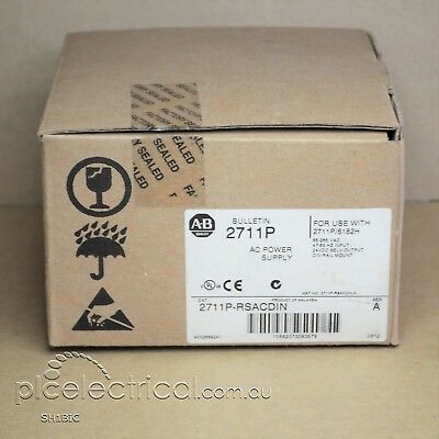 Allen-Bradley 2711P-RSACDIN Series A, 2012, New in box. Power Supply