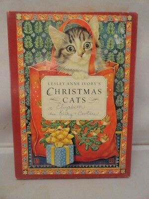 Lesley Anne  CHRISTMAS CATS Hardcover Mint in Slipcover 1st American Ed