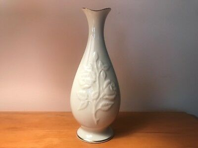 Lenox Single Flower Vase Cream And Gold Small 999 Picclick