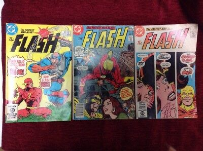 Vintage (1983/84) DC The Fastest Man Alive! The FLASH
