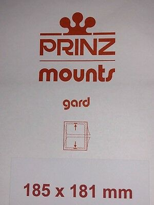 Prinz Stamp Mounts 185/181    ***We Are A Veteran Supportive Business***