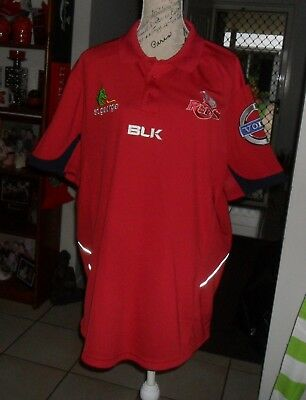 Reds - 3Xl - Blk-  Polo Shirt With Logos, Pristine Used Condition