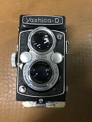 Rare Yashica D Yashikor F/3.5 80Mm Tlr 120 Film Camara From Japan B121