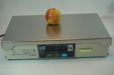 CAS PD II Digital Scale POS 15kg Dual Display Point Of Sale Sytem Scale