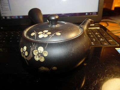 Important Inlaid Brown Clay Asian Teapot Please See Markings as Pictured
