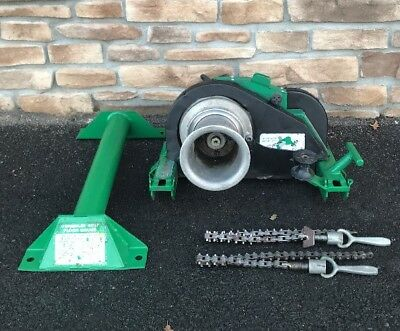 Greenlee 6001 Super Tugger Cable Puller 6500 LBS 6000 **NICE MACHINE**