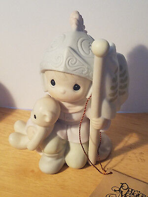 Precious Moments Figurine THIS LAND IS OUR LAND 1992 Limited Edition NWB