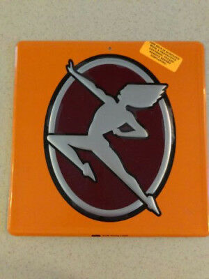 "Phoenix Symbol 11' X 11"" Aluminum Embossed Sign With Plastic Protective Coating"
