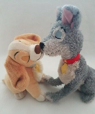 Lady and the Tramp soft toy from Disney Store Exclusive