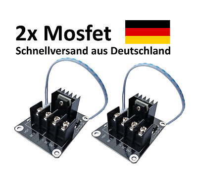 2x Mosfet Anet A8 A6 A2 12v Ramps 3D Printer Drucker Rep Heatbed  Rap Prusa i3