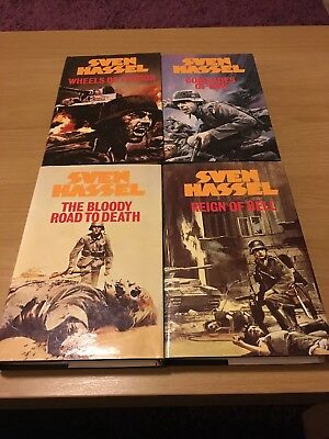 Sven Hassel Books Reign Of Hell Wheels Of Terror Comrades Of War The Bloody Road