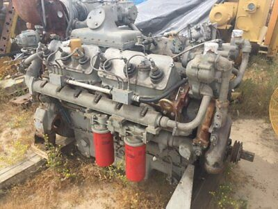 Natural Gas Engine CAT Model G3412TA