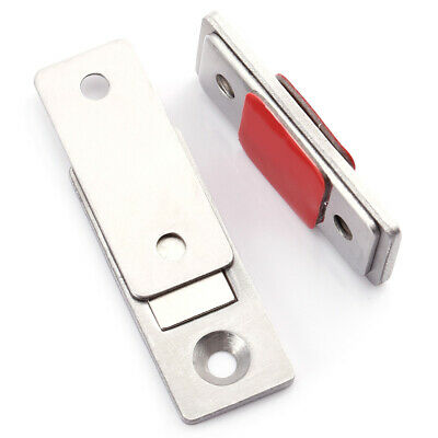 2 PCS Magnetic Door Catches Plate For Kitchen Cabinet Cupboard Wardrobe Latch