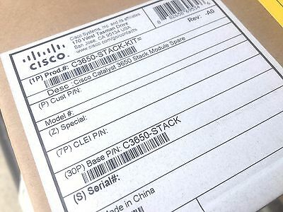 Cisco New C3650-STACK-KIT Catalyst 3650 Stack Module Stacking Cables
