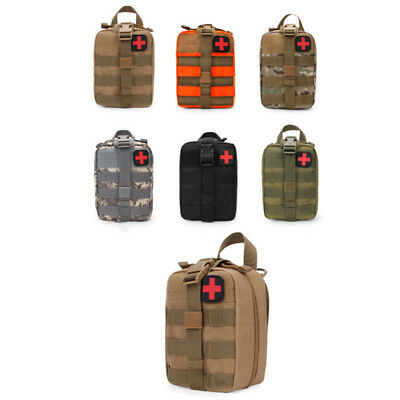 Survival First Aid Bag Tactical Handy Outdoor Bag Molle Pouch Emergency Medical