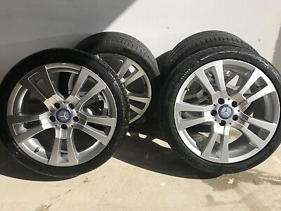 "18"" Genuine Mercedes alloy wheels & Continental Tyres"