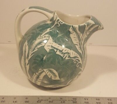 Tepco China Ball Pitcher Green Shadow Leaf