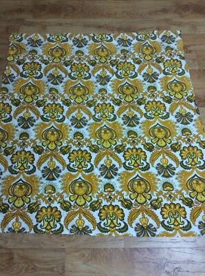 Vintage Retro Fabric Tablecloth