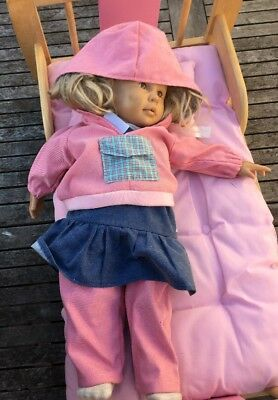Dolls Bed And Doll
