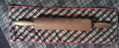 Vintage Rolling Pin with Storage sack