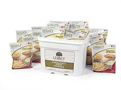 Gourmet Survival Home Food Storage - 120 Large Servings Meal Assortment:31 Lbs