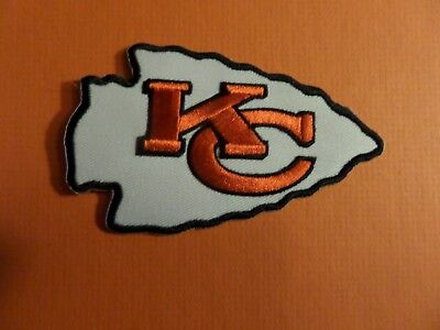 KANSAS CITY CHIEFS nfl  Embroidered 2-3/8 x 3-7/8 Iron Or Sew On Patch