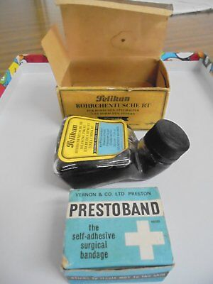 Vintage Ink Well Band Aids Strip