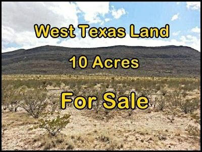 Prime Southwest Texas 10 Acres of Land for Sale! Great for Homestead or Ranch!