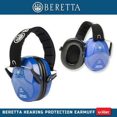 Beretta Foldable Shooting Hunting Low Profile Up Shape Earmuffs Ear Muffs