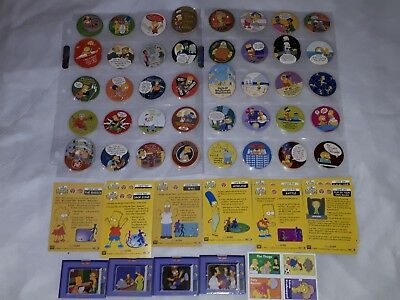 Simpsons Tazo Pickers & Cards