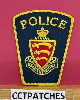 Essex, Vermont Police Shoulder Patch Vt