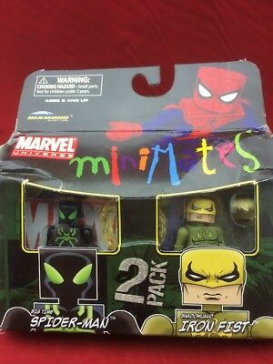 Marvel Minimates Big Time Spider-Man & Shadowland Iron Fist Series 38 New In Box