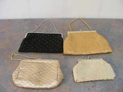 4 Vintage Purses or Evening Bags