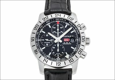 Chopard Watch Mille Miglia GMT 16/8992 Stainless Steel Black W/Box Used