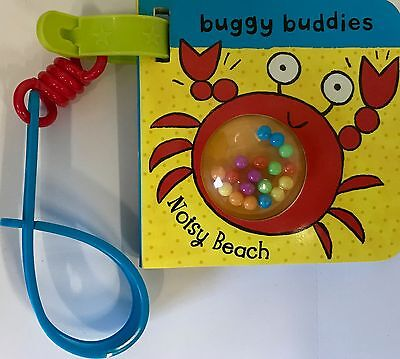 Rattle Buggy Buddies Noisy Beach by Ana Martin Larranaga NEW (Board book, 2009)