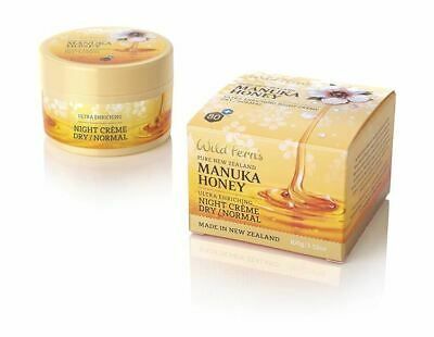 Wild Ferns Manuka Night Cream Dry to Norm 100g