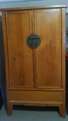 19th Century Antique Chinese Armoire