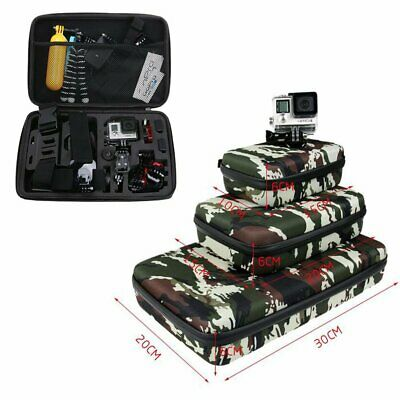 Camouflage Collection Bag Storage Case Travel for GoPro 7 6 5 4 3+ 3 2 1 Xiaoyi