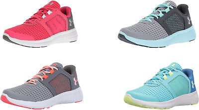 UNDER ARMOUR GIRLS  Pre School Rave 2 Adjustable Closure Sneakers b1154a64ae0
